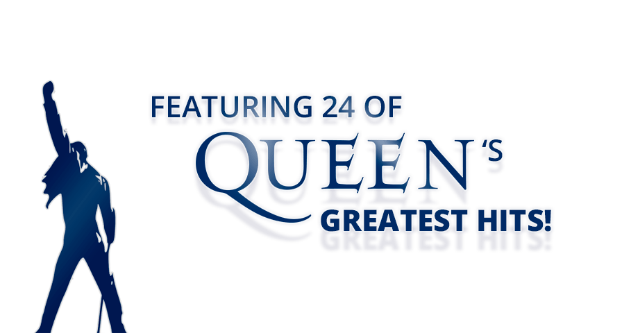 Featering 24 of Queen's Greatest Hits